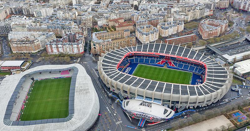 Fotboll i Paris - boka biljett till PSG på Parc des Princes