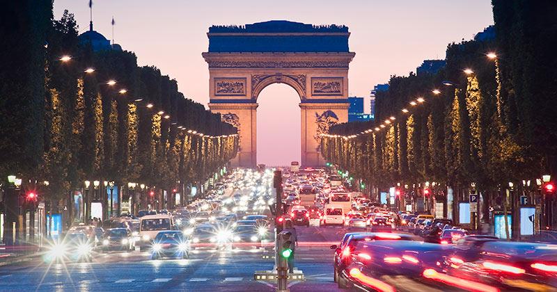 Triumfbågen i Paris