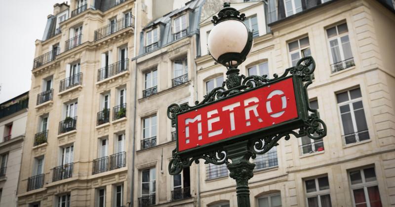 tunnelbana i Paris